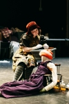 Caitlin Weaver and Beatrice in The Bear Loves Honey.